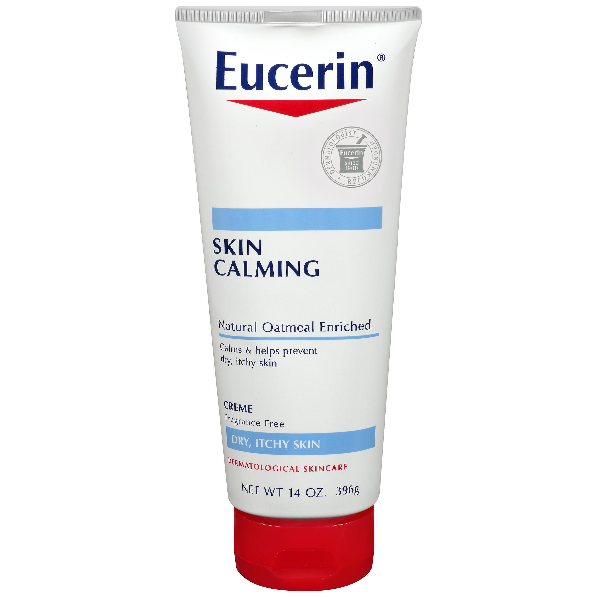 eucerin skin calming daily moisturizing creme 14 ounce beauty. Black Bedroom Furniture Sets. Home Design Ideas