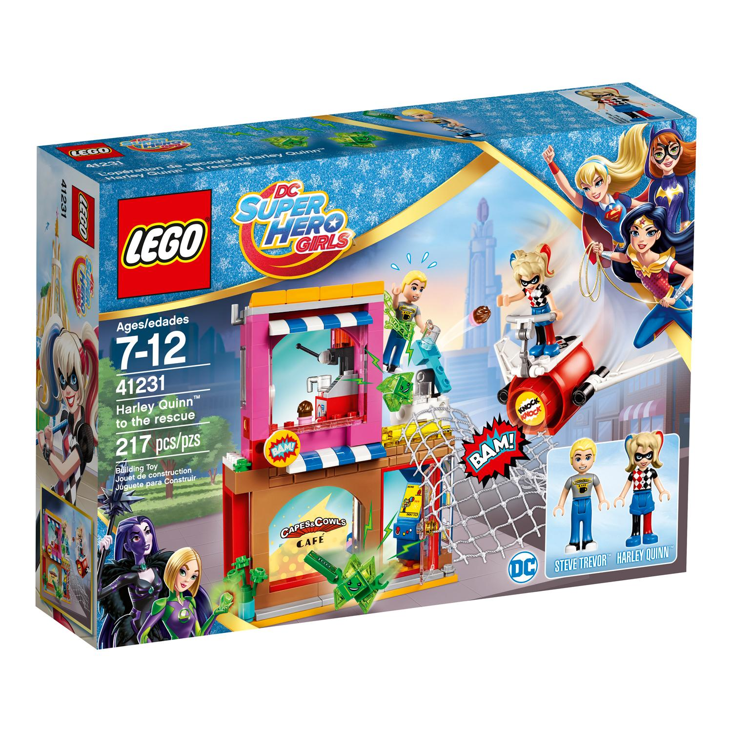 Lego Toys For Girls : Amazon lego dc super hero girls harley quinn to