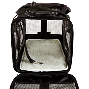 Soft-Sided Pet Carrier, Review of AmazonBasics Black Soft-Sided Pet Carrier – Medium