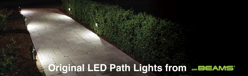 battery path lights, led outdoor lights, ground lighting, outdoor path lights, solar walkway lights