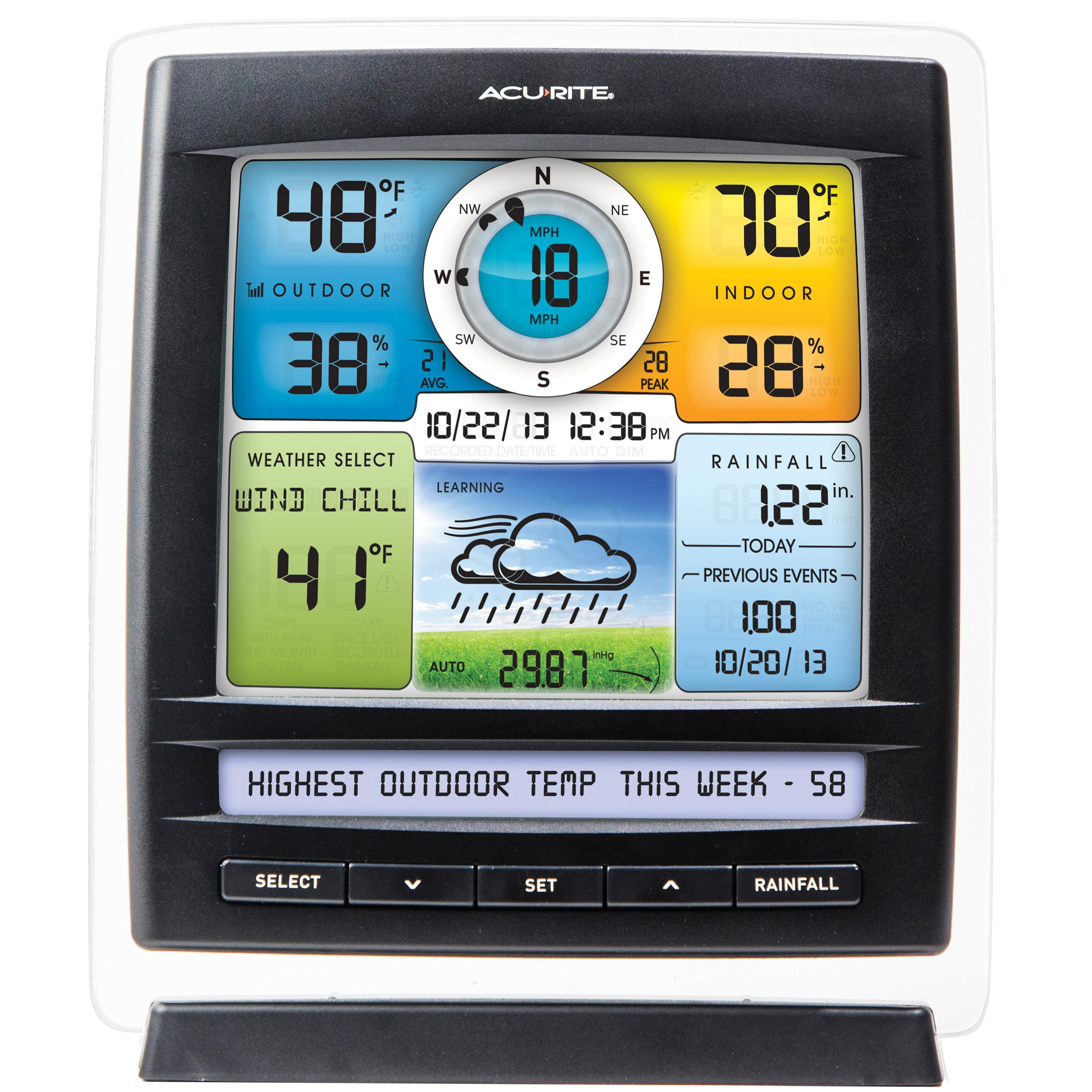 Amazon Com Acurite 01078 Wireless Weather Station With 2