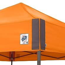 E-Z Up Red Canopy Instant Shelter Beach Canopy  sc 1 st  Amazon.com & Amazon.com : E-Z UP Pyramid Instant Shelter Canopy 10 by 10 ...