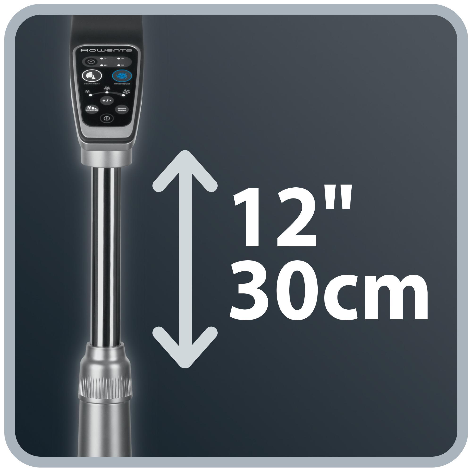 Amazon.com: Rowenta VU5551 Turbo Silence Oscillating 16 ...