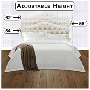Amazon Com Martinique Upholstered Adjustable Headboard Panel