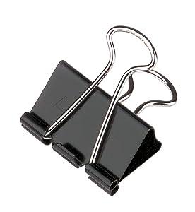 Binder Clips, ACCO, black binder clips, presentation clips