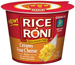 Rice A Roni creamy four cheese cups
