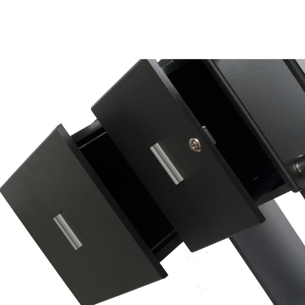 Amazon Com Onespace Rothmin Computer Desk Storage Cabinet