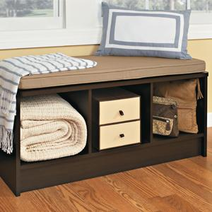 Everything You Need In One Box: Cubeicals Three Cube Storage Bench ...