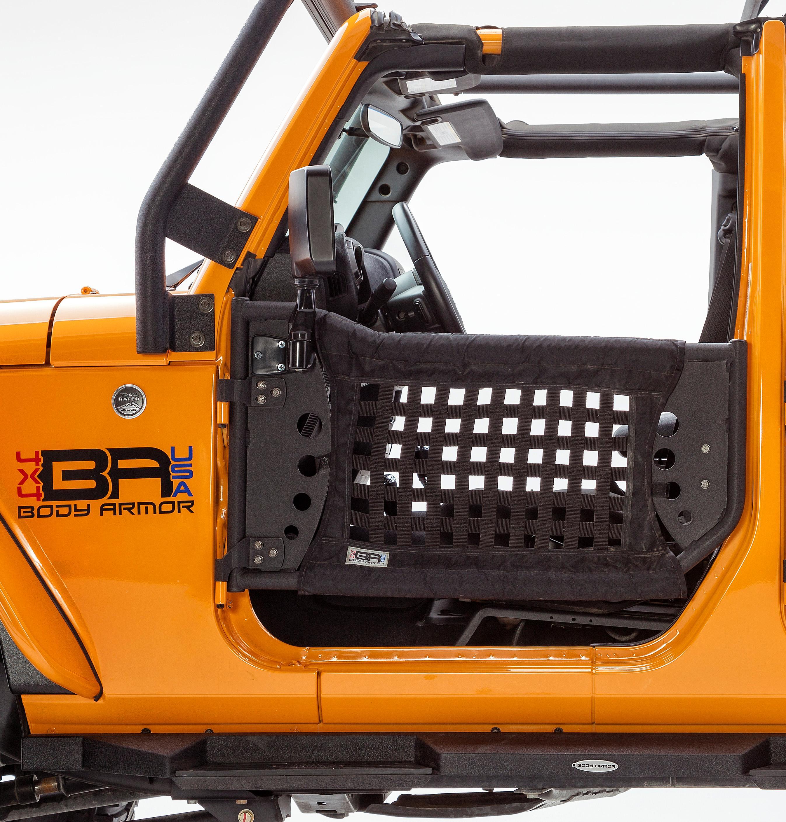 Jeep Wrangler 2 front doors replacement Body Armor 4x4 Gen 3 Trail Doors