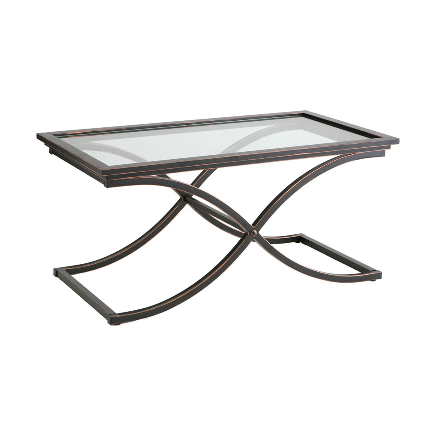 Amazon Southern Enterprises Vogue Cocktail Coffee Table