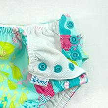 Swim Nappy 2-3 Years 3T Blue Pineapple of i play