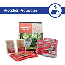 emergency preparedness readiness kit disaster Shelter cold weather protection