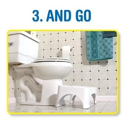 Amazon Com Step And Go Toilet Stool 7 Quot New Proper