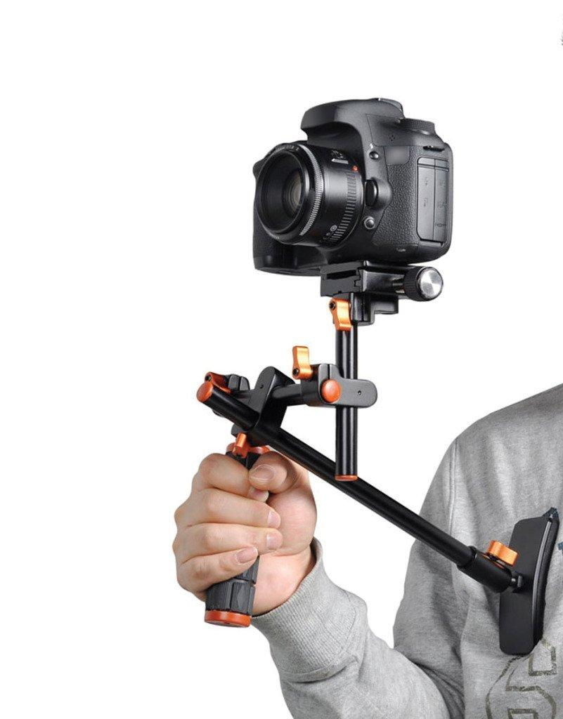 Camera Dslr Video Camera Stabilizer amazon com polaroid video chest stabilizer support system from the manufacturer for dslr cameras and camcorders