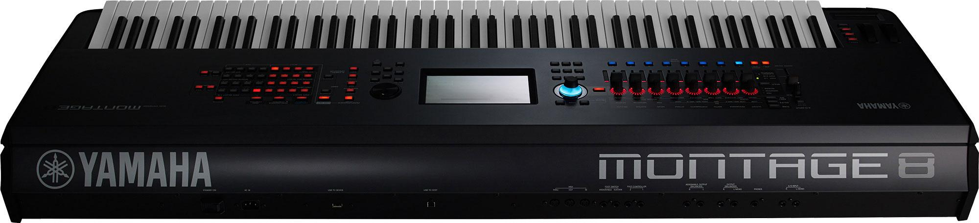 Amazon.com: Yamaha Montage8 Synthesizer Workstation: Musical ...