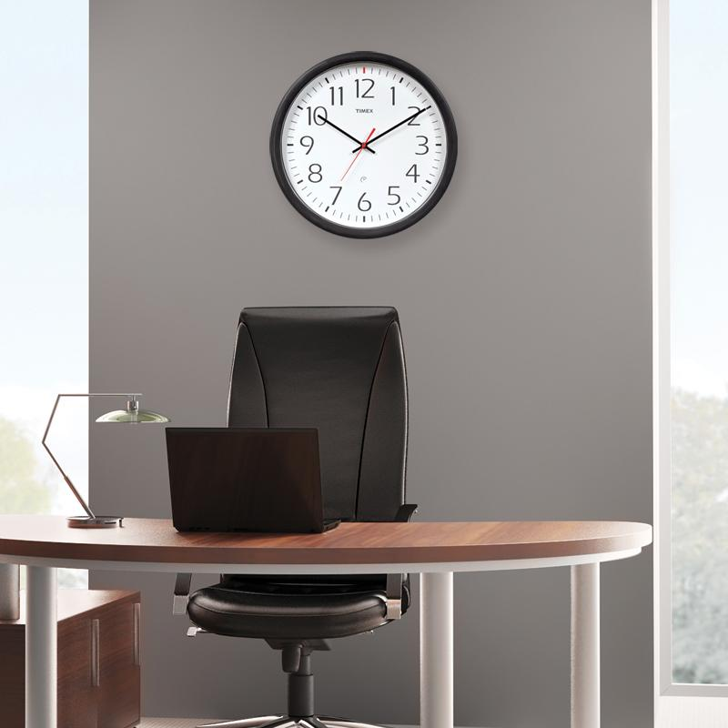 Amazon Com Timex 46004t Set And Forget Wall Clock 14