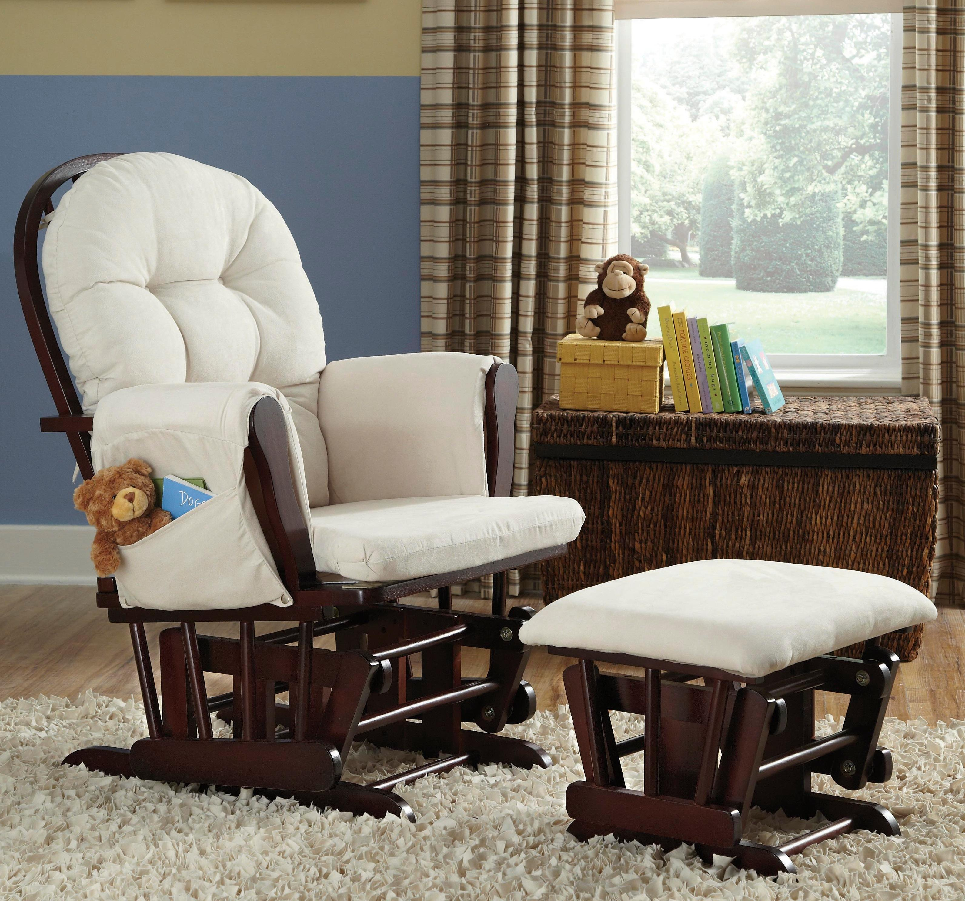 Nursery chair and ottoman - View Larger