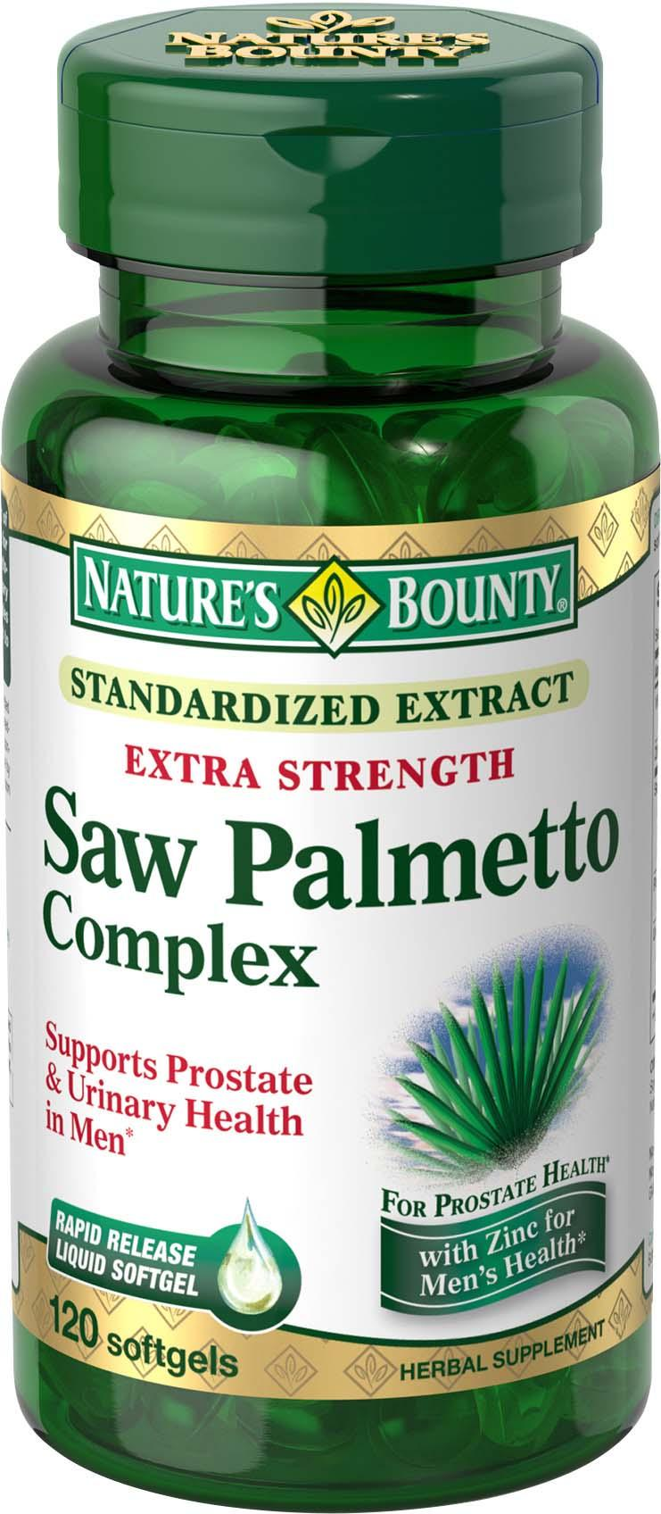 palmetto saw bounty strength health nature amazon extra complex natures softgels care maintains supports
