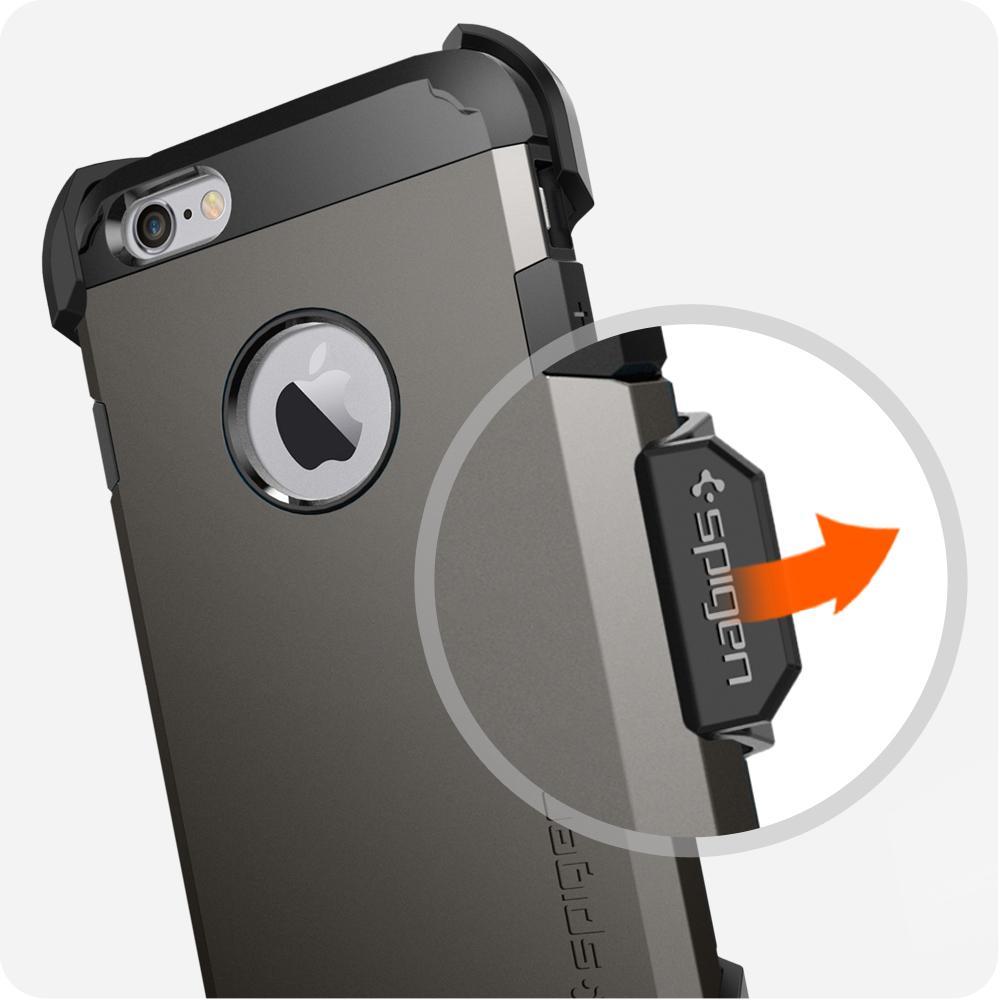 Amazon.com: Spigen Belt Clip iPhone 6s Case with Durable