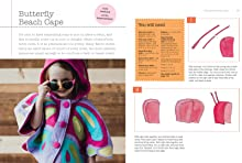 Molly Goodall, sew, butterfly, cape, cute