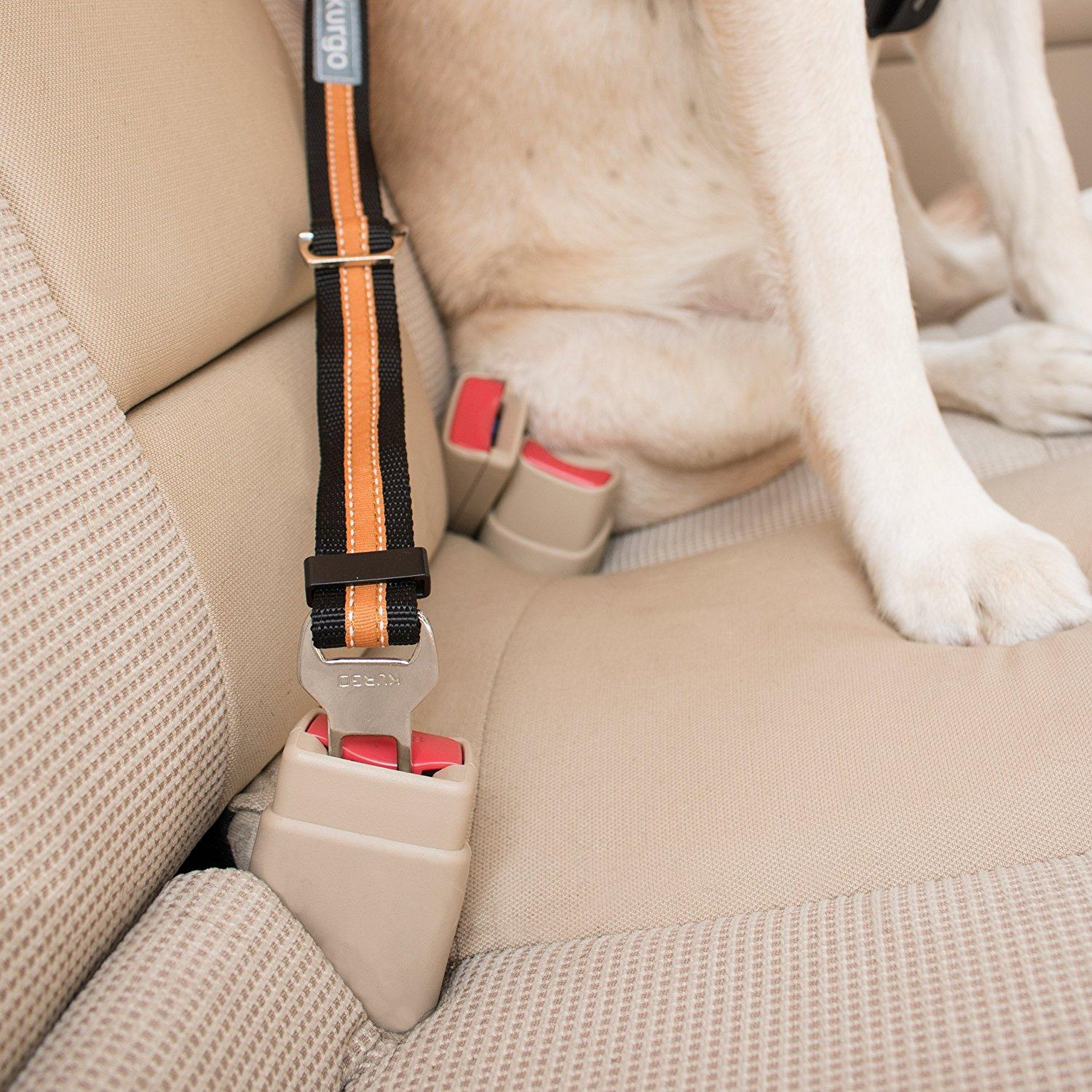 Amazon Com Kurgo Direct To Seatbelt Tether Tm Dog Seat