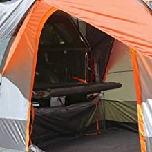 Tent on Truck cab