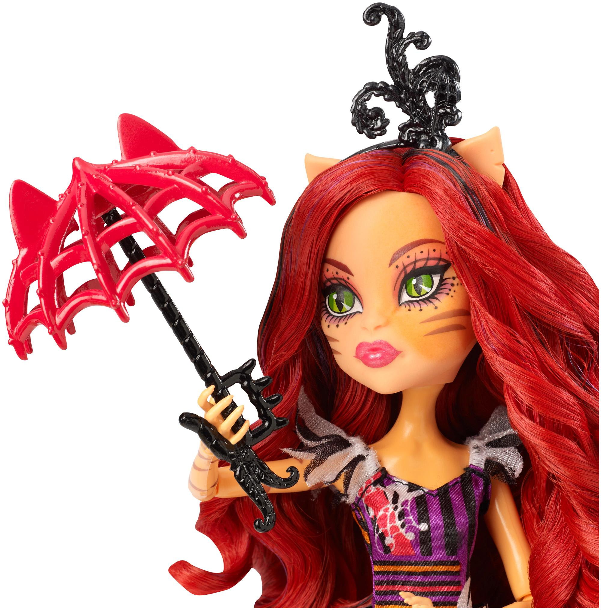Amazon De: Amazon.com: Monster High Freak Du Chic Toralei Doll: Toys