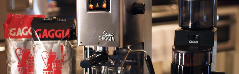 gaggia, classic, espresso, espresso machine, italian espresso
