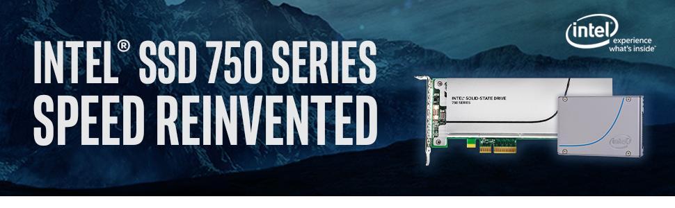Intel SSD 750, SSD 750, Solid State Drive