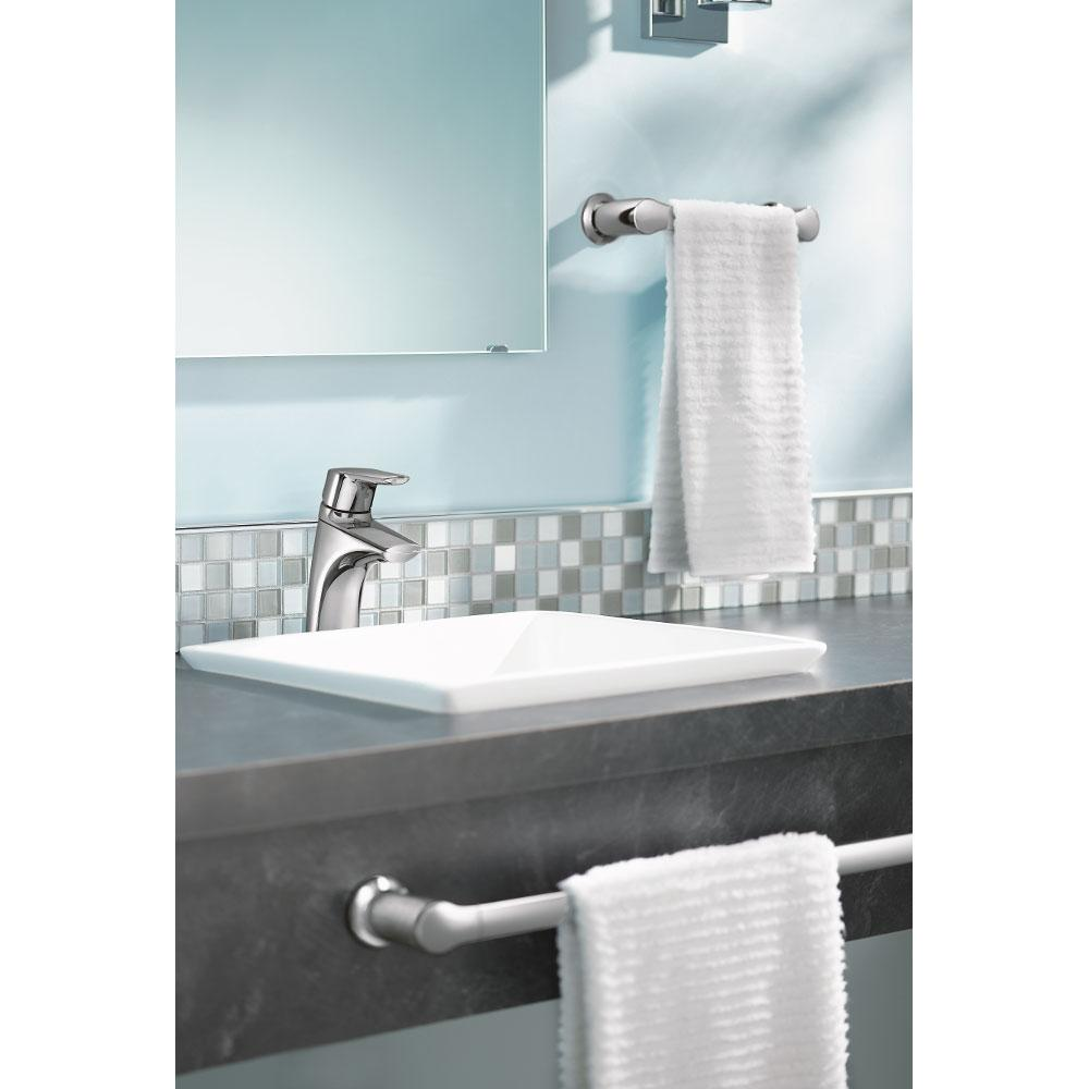 Moen 6810BN Method One-Handle Low-Arc Bathroom Faucet with Drain ...