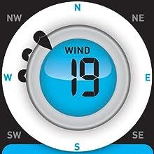 anemometer, wind sensor, wind weather station