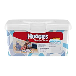 Amazon Com Huggies Simply Clean Baby Wipes Fresh Scent