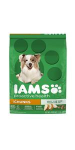 IAMS Adult Dog Food Chicken Flavor tastes great and gives them the good nutrition they deserve.