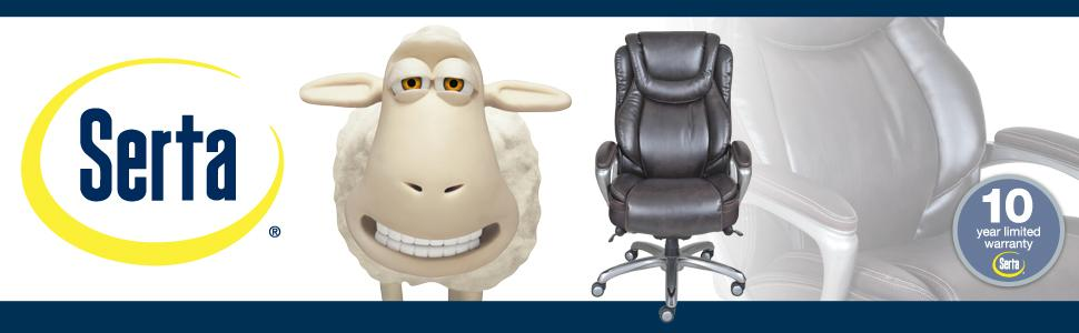 Serta, Office Chair, Smart Layers