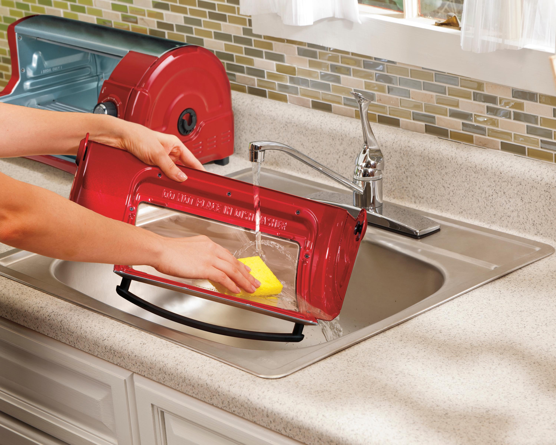 Amazon Com Hamilton Beach Easy Reach Toaster Oven Red