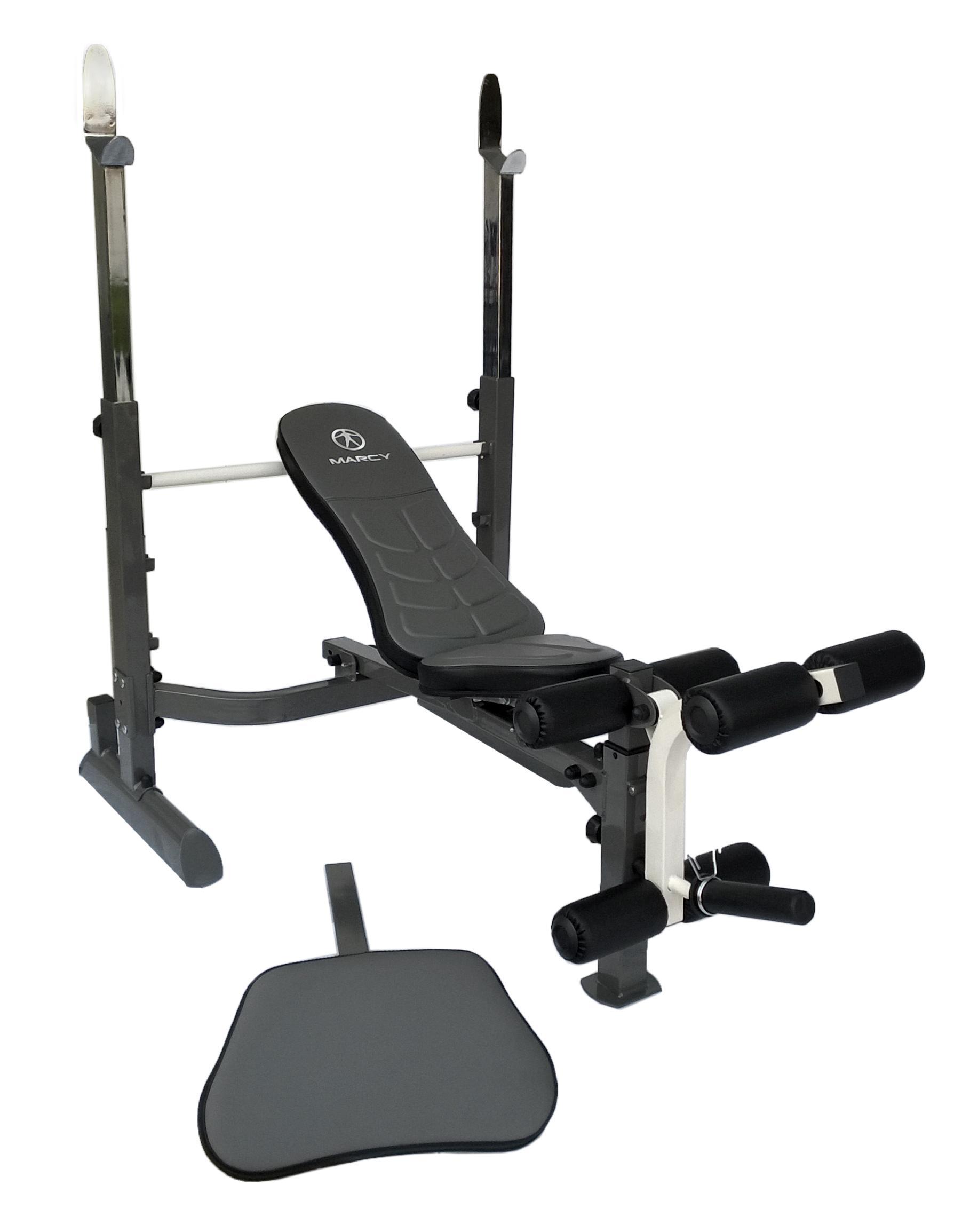 Amazon Com Marcy Mwb 50100 Mid Width Bench Sports