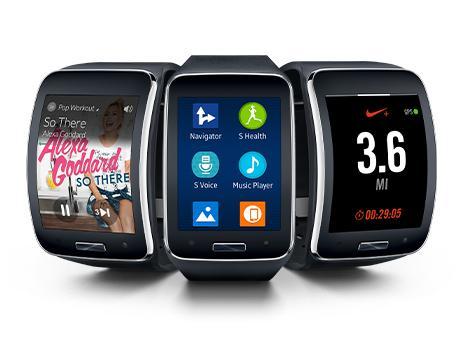Samsung Galaxy Gear S SM-R750 Charcoal Black Smart Watch