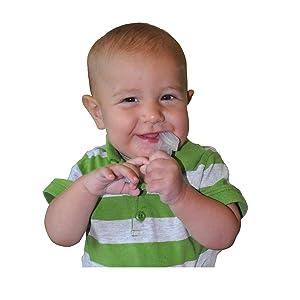 Amazon Com Baby Buddy Baby S 1st Toothbrush Teether