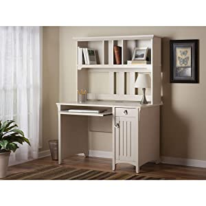 Amazon.com: Salinas Mission Style Desk with Hutch: Kitchen & Dining