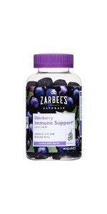 Amazon Com Zarbee S Naturals Elderberry Immune Support
