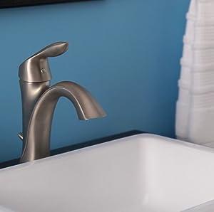 Moen 6400ORB Eva One-Handle High Arc Bathroom Faucet, Oil