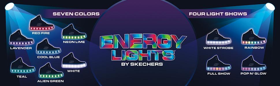 Skechers Energy Lights For Girls