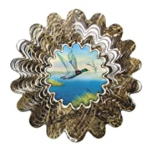 Iron Stop Mossy Oak Animated Duck Wind Spinner