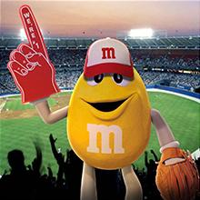 Game day snacks are more fun with single serve pouches of M&M'S Peanut Chocolate Candies.