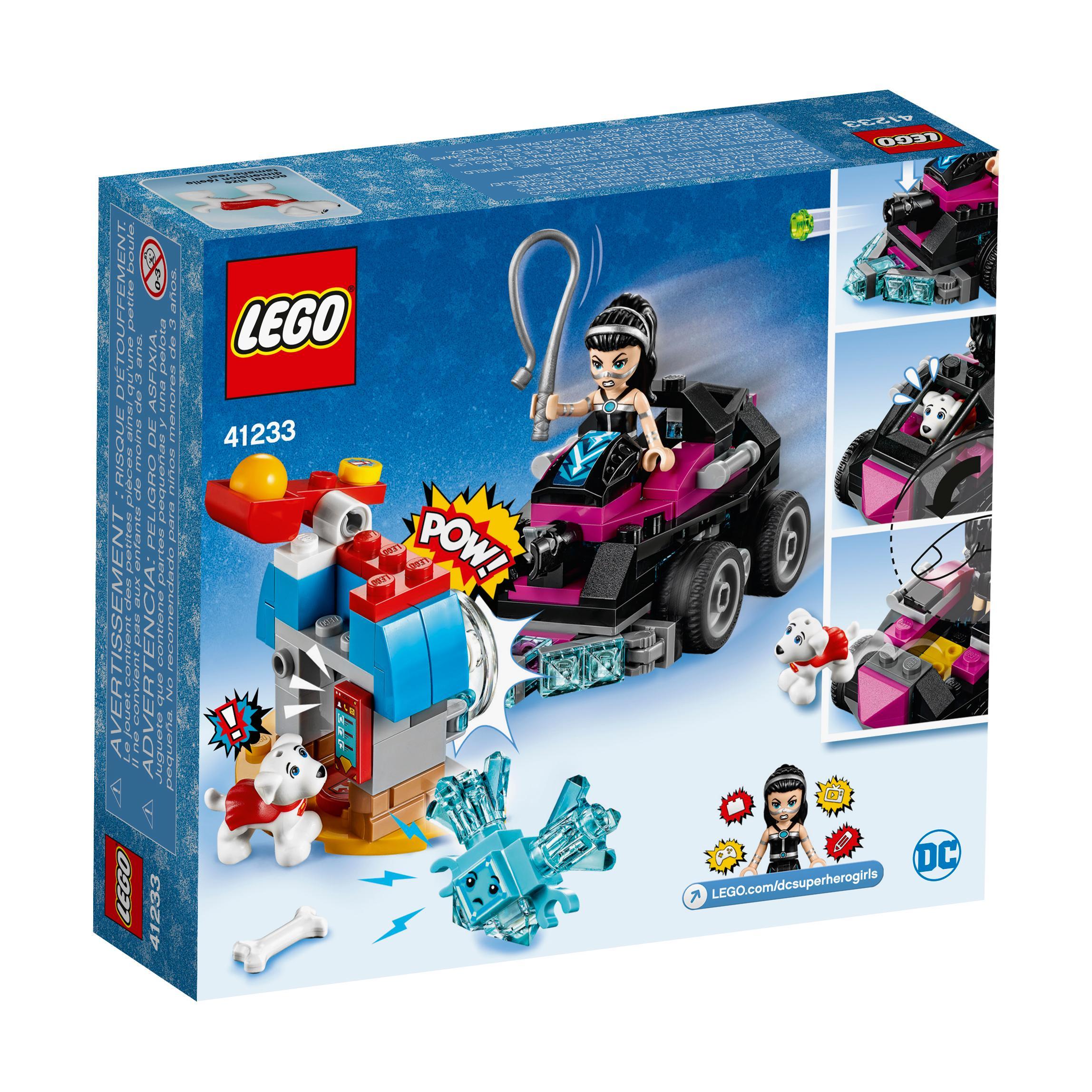 6 Malvorlagen Lego Superheroes: Amazon.com: LEGO DC Super Hero Girls Lashina Tank 41233