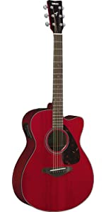 yamaha fsx800c small body solid top cutaway acoustic electric guitar natural. Black Bedroom Furniture Sets. Home Design Ideas