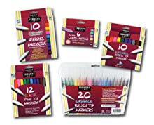 marker,drawing,sketch,color,render,set,art,fabric,metallic,broad,fine