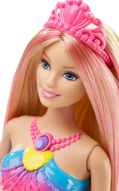 Amazon Com Barbie Dreamtopia Rainbow Lights Mermaid Doll