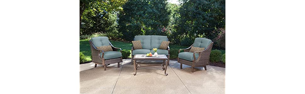 Ventura 4 Piece Patio Set