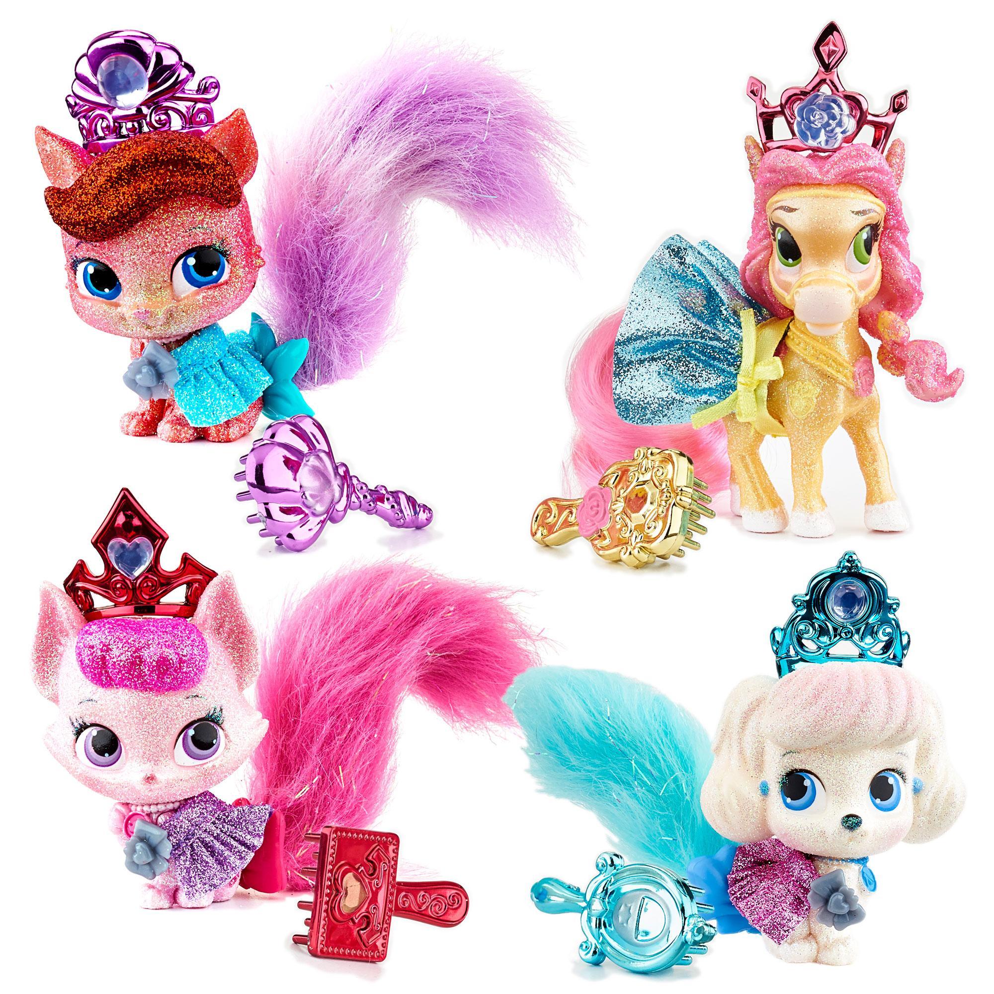 Amazon Disney Princess Palace Pets Glitzy Glitter